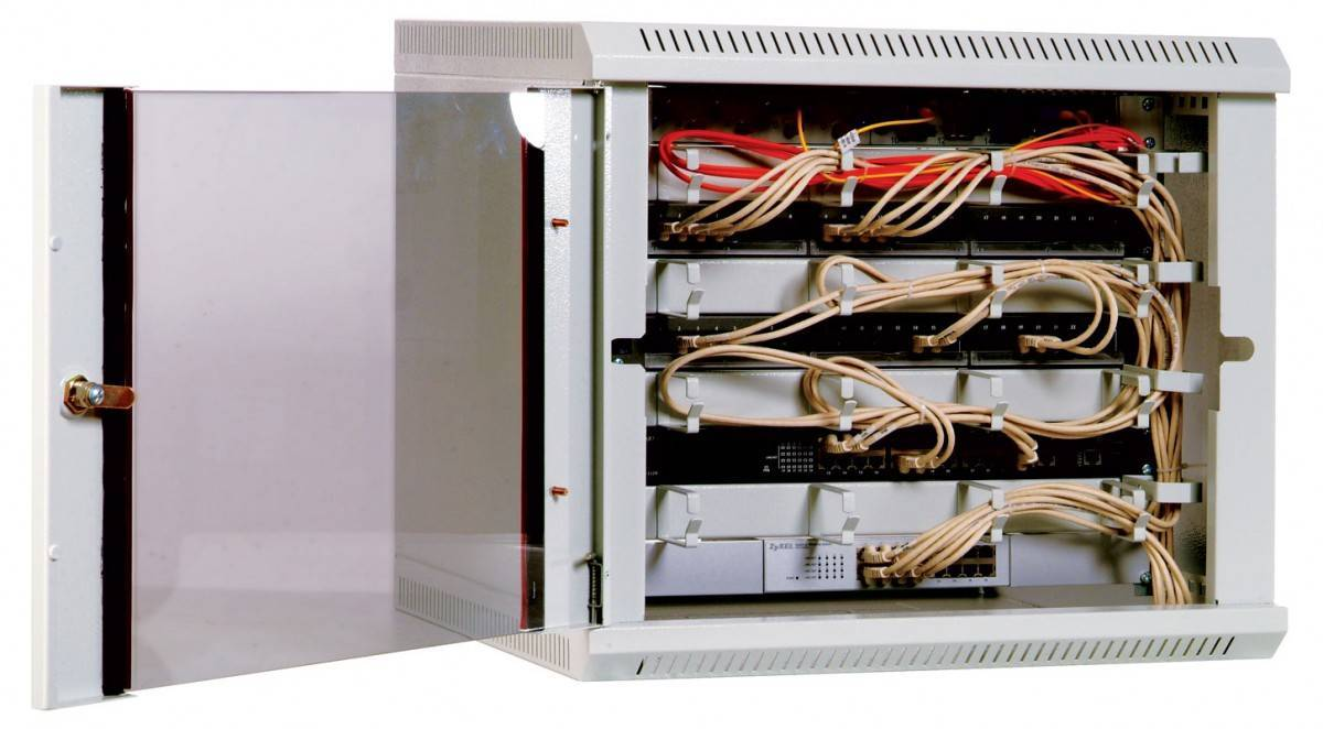 Шкаф телекоммуникационный 19 настенный ЦМО ШРН-12.480