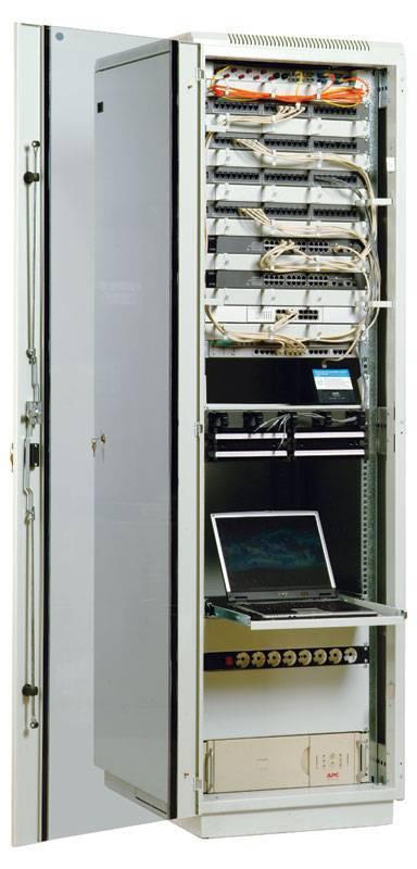 Шкаф 19 напольный серверный ЦМО ШТК-М-38.6.10-1ААА