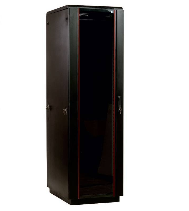 Шкаф 19 напольный серверный ЦМО ШТК-М-33.6.8-1ААА-9005