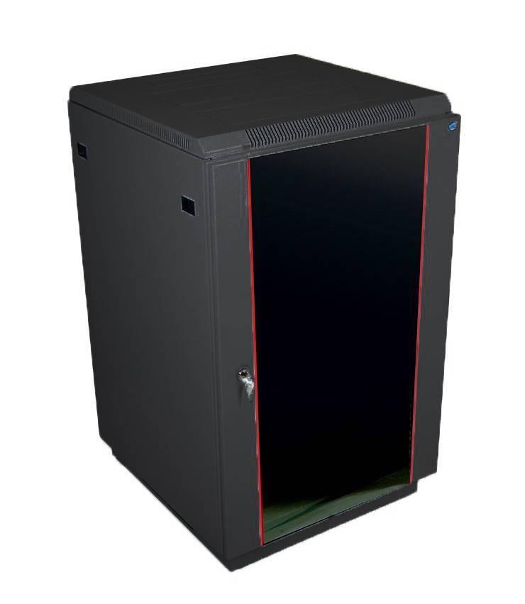 Шкаф 19 напольный серверный ЦМО ШТК-М-22.6.8-1ААА-9005