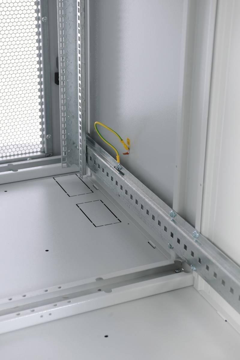 Шкаф телекоммуникационный напольный 19 серверный ЦМО ШТК-С-42.6.10-44АА