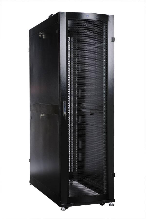 Шкаф 19 напольный серверный ЦМО ШТК-СП-42.6.10-48АА-9005