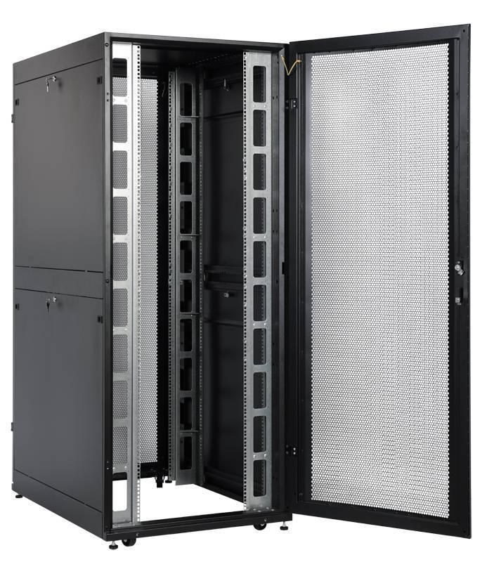 Шкаф 19 напольный серверный ЦМО ШТК-СП-48.8.12-48АА-9005