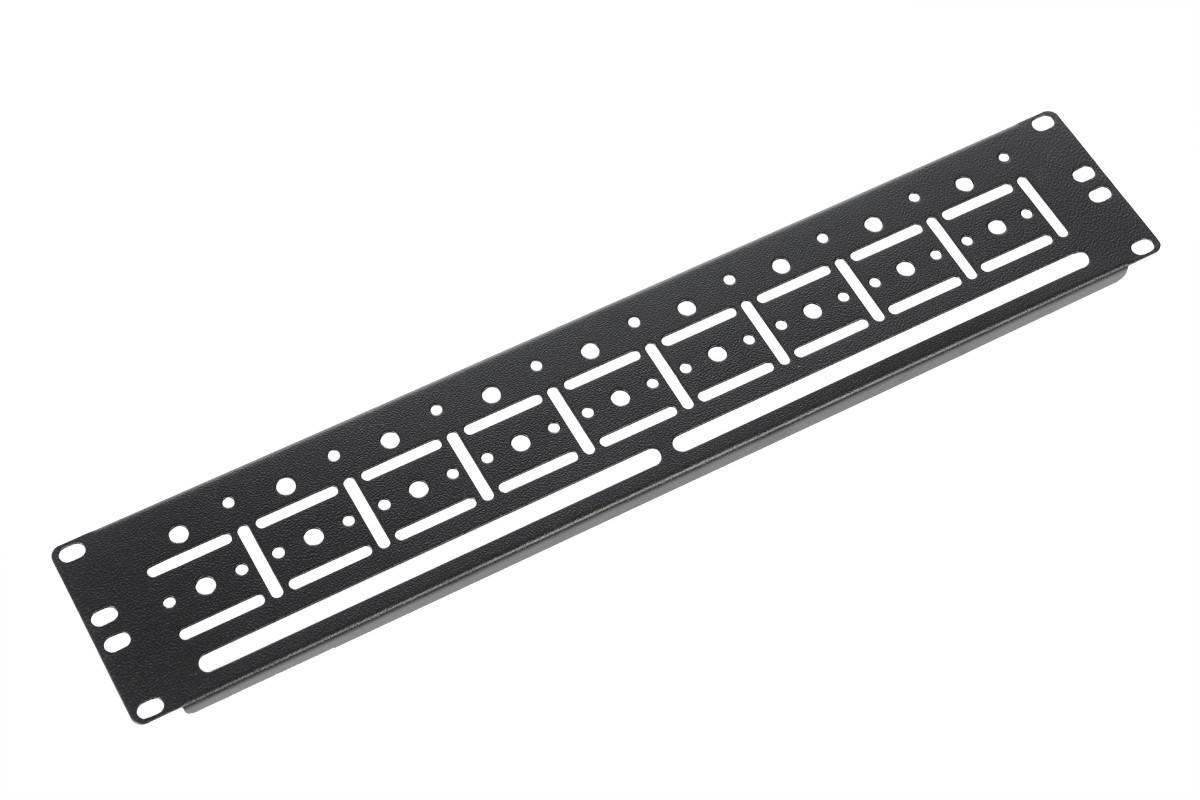 Органайзер кабельный горизонтальный ЦМО ГКО-У-2-9005
