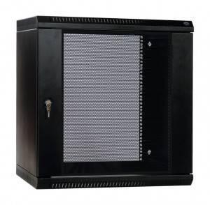 Шкаф настенный 19 дюймовый телекоммуникационный ЦМО ШРН-Э-15.650-9005