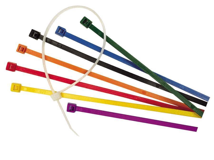 Стяжка кабельная нейлоновая до 200 мм