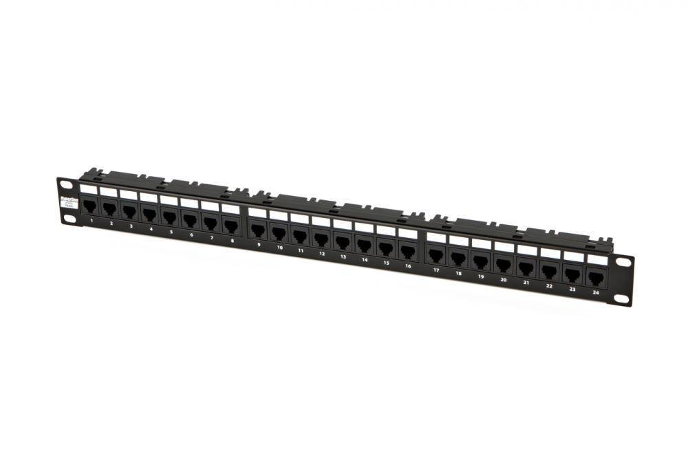 Патч-панель 19 Hyperline PP-19-24-6P4C-C2