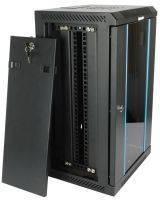 Шкафы телекоммуникационные 10 дюймов Hyperline настенные