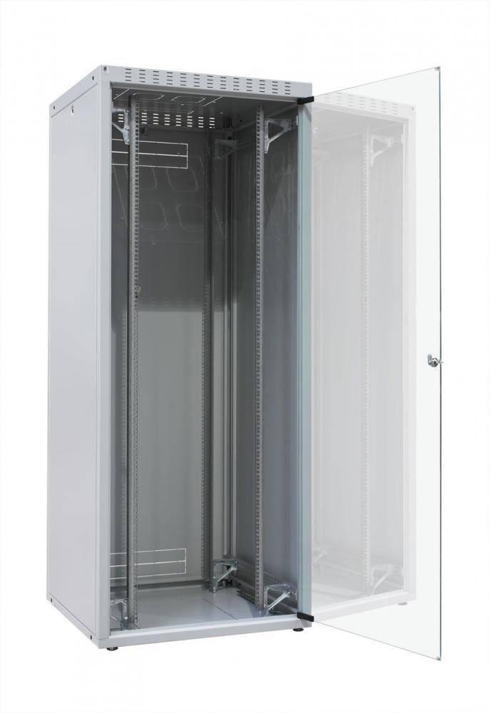 Шкаф телекоммуникационный напольный 19 серверный Zpas WZ-ECO-42U6080-12AA-01-0000-011