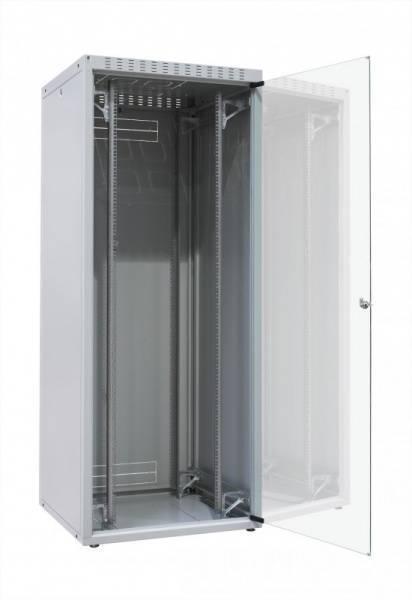 Шкаф телекоммуникационный напольный 19 серверный Zpas WZ-ECO-42U6010-12AA-01-0000-01