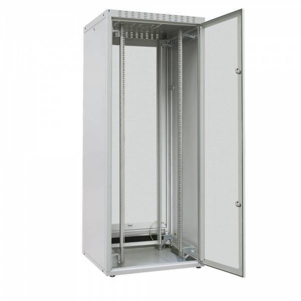 Шкаф телекоммуникационный напольный 19 серверный Zpas WZ-ECO-47U6080-IIAA-01-0000-01