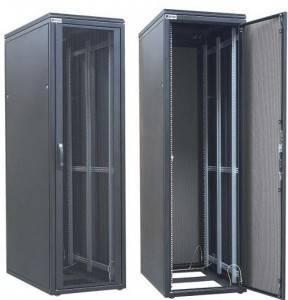 Шкаф телекоммуникационный напольный 19 серверный Zpas WZ-DCI-021-5(77)11-01-0000-2-1