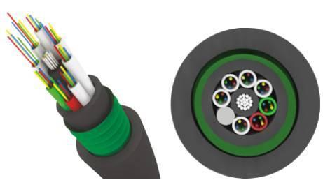 Волоконной-оптический кабель Трансвок ОКЗ-САО-1/3Сп-4(2) (1.5кН)