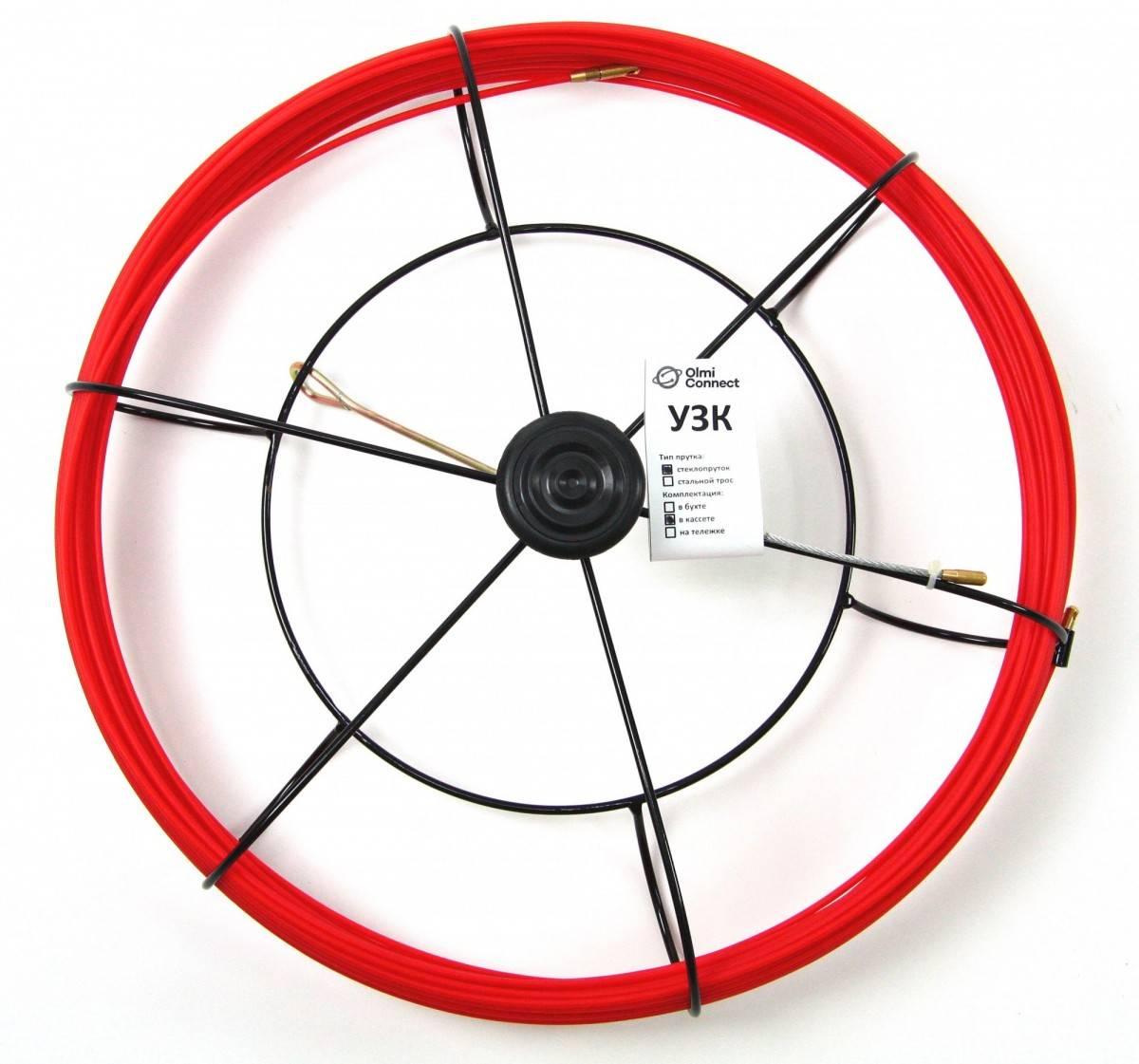 Протяжка для кабеля OlmOn СП-К-3.5/20 длина 20 метров