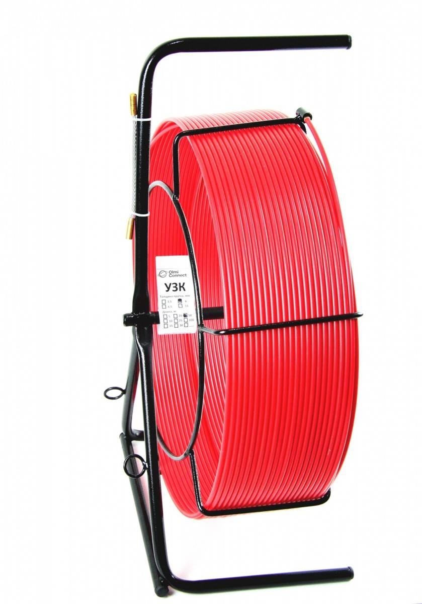 Протяжка для кабеля мини узк OlmOn СП-К-6/100 в металлической кассете
