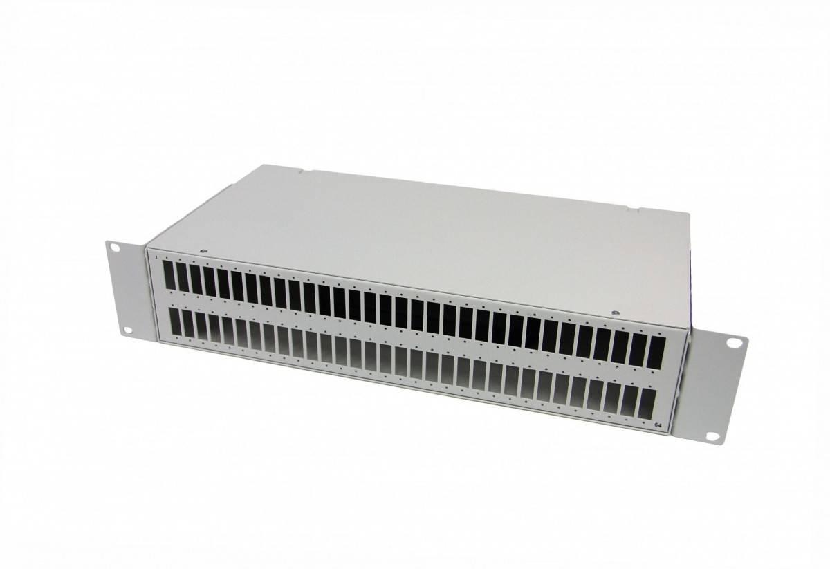 Кросс оптический стоечный 19 КРС-64SC/LC