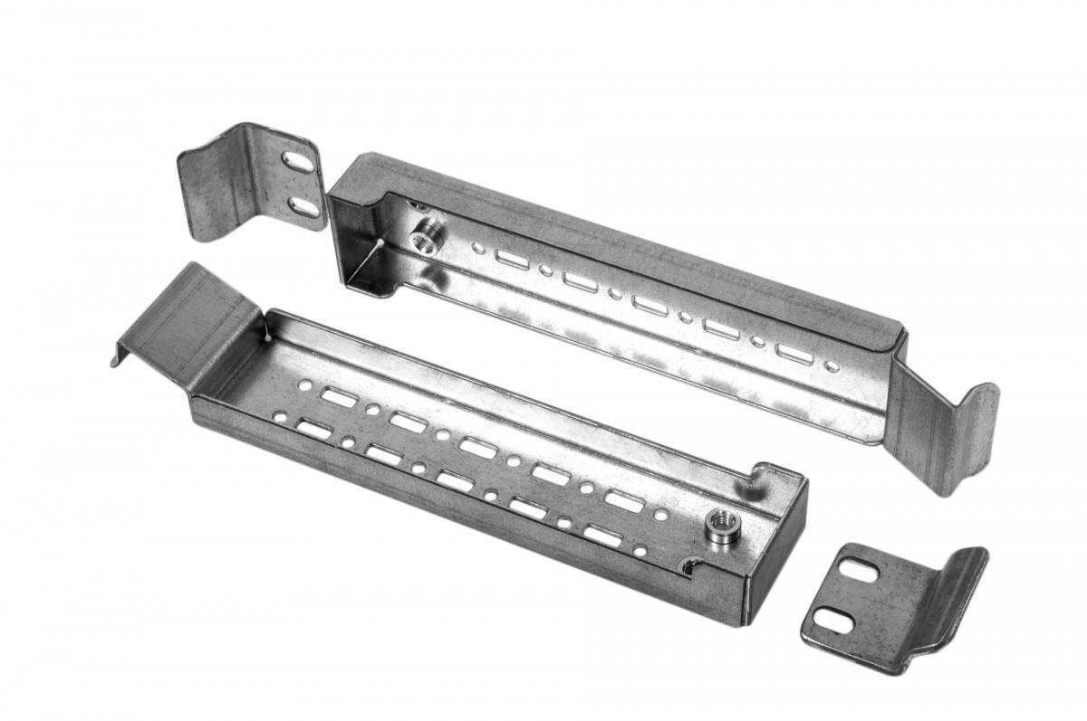 Монтажная шина для шкафов Elbox EMW-RM-25.45.400