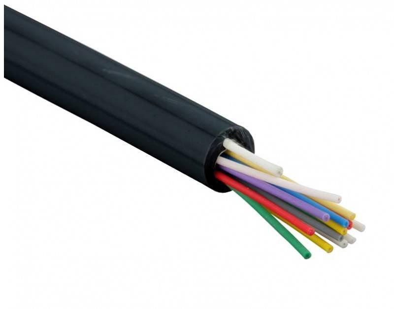 Оптический кабель Hyperline FO-DPE-IN/OUT-9S-4-LSZH-BK