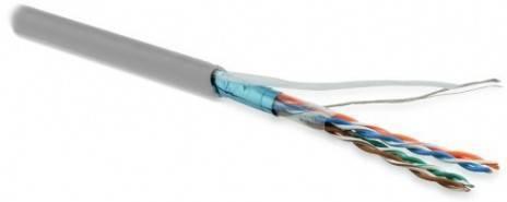 Кабель витая пара FTP Hyperline FUTP4-C5e-P26-IN-LSZH-GY-305