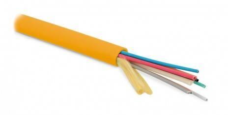Оптический кабель Hyperline FO-MB-IN-50-16-LSZH-OR