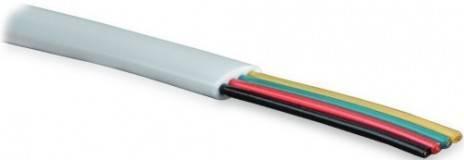 Кабель телефонный Hyperline UTC2x2x0.12-C2-PATCH-INDOOR
