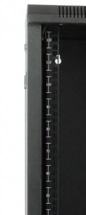 Шкаф 10 дюймов Hyperline TDC-15U-GR-RAL9004