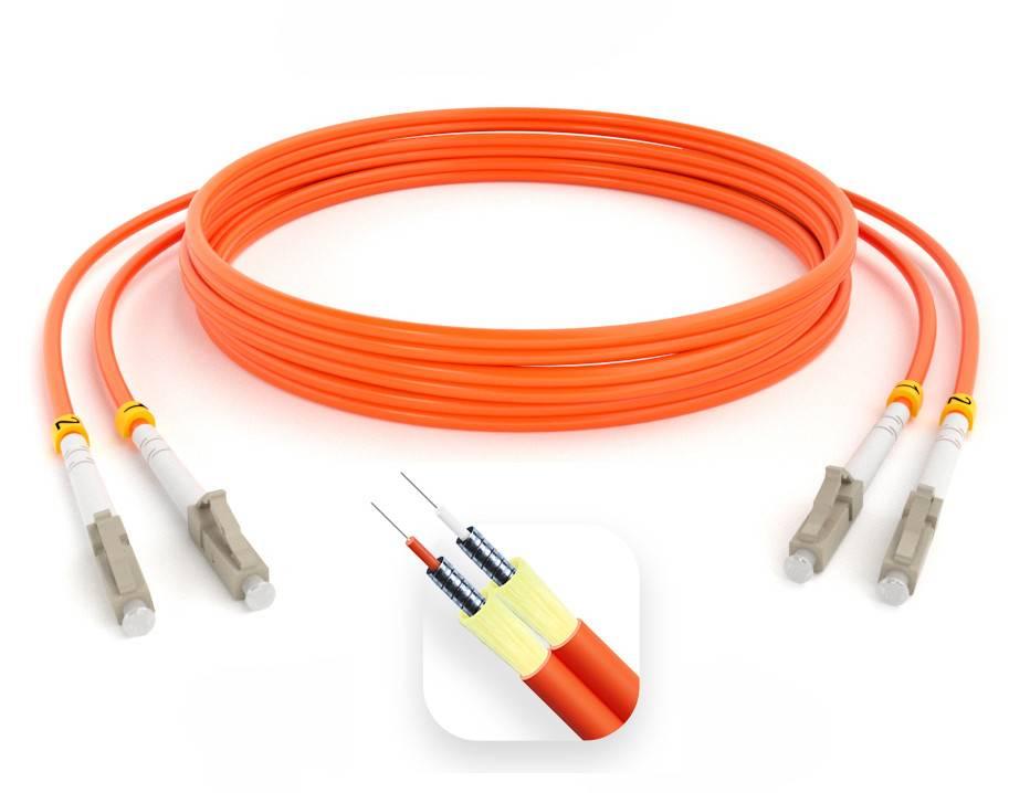 Шнур оптический армированный ARM-2LCLC50-1.5м-LSZH