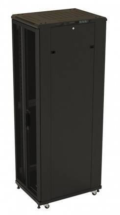 Шкаф телекоммуникационный напольный 19 дюймов Hyperline TTB-2768-DD-RAL9004