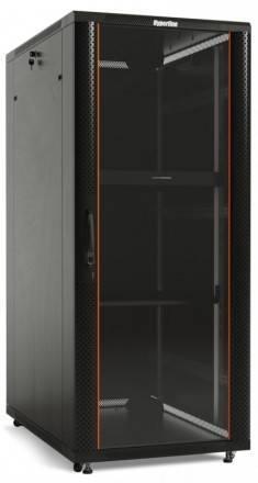 Шкаф телекоммуникационный напольный 19 дюймов Hyperline TTC2-4788-AS-RAL9004