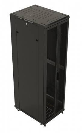 Шкаф телекоммуникационный напольный 19 дюймов Hyperline TTB-2761-DD-RAL9004