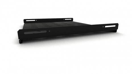 Полка перфорированная Hyperline TSH3L-450-RAL9004