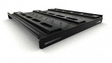 Полка перфорированная Hyperline TSH3M-450-RAL9004