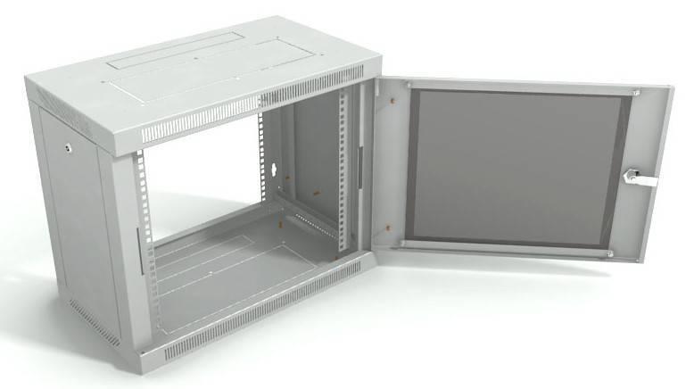 Шкаф телекоммуникационный 19 настенный ШРН-Р-9.600