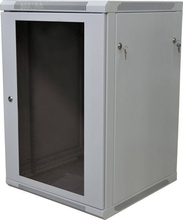 Шкаф телекоммуникационный 19 настенный ШРН-Р-18.450