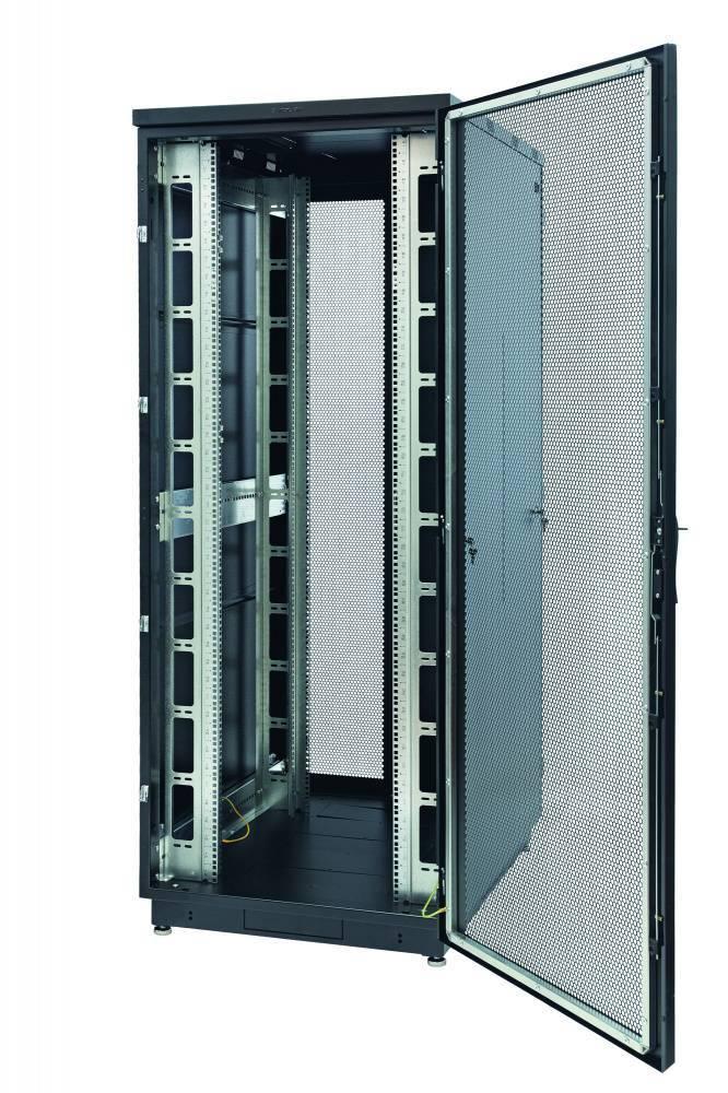 Шкаф телекоммуникационный напольный 19 дюймов Eurolan 60F-42-68-34BL
