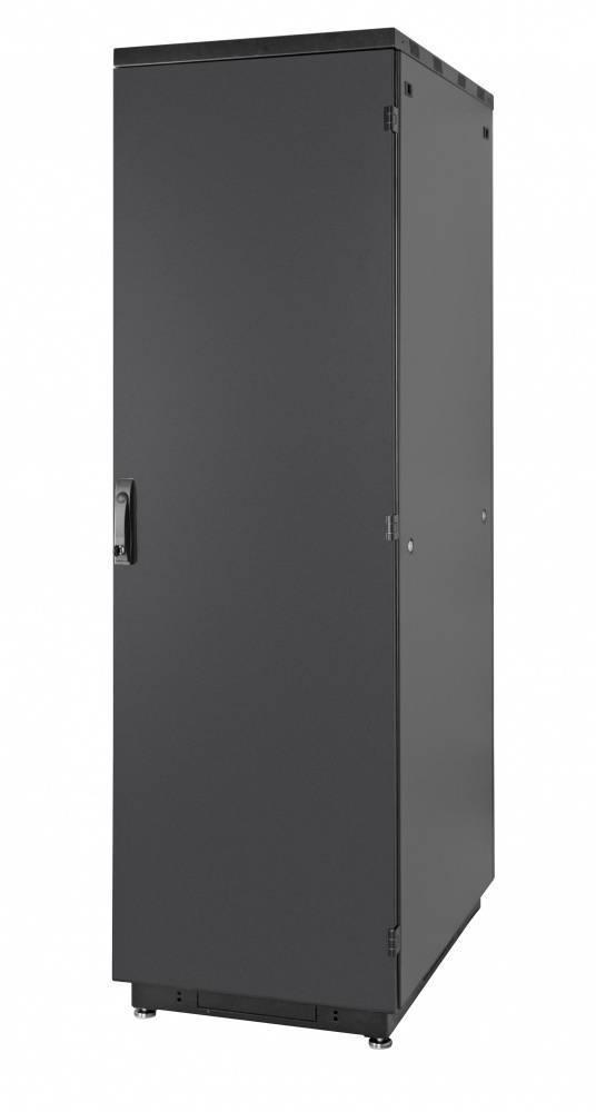 Шкаф телекоммуникационный напольный 19 дюймов Eurolan 60F-42-88-30BL