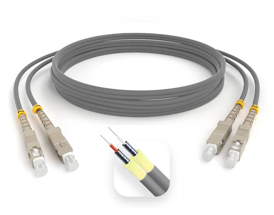 Шнур оптический армированный ARM-2SCSC62,5-35м-LSZH