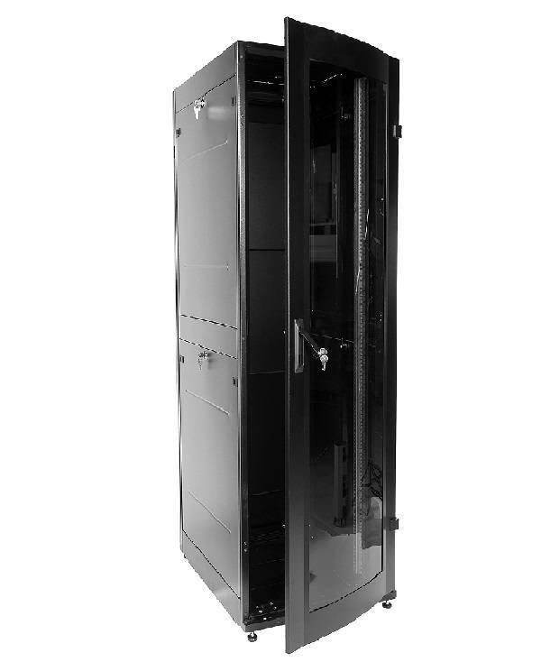 Шкаф телекоммуникационный напольный 19 серверный ЦМО ШТК-МП-42.6.10-1ААА-9005