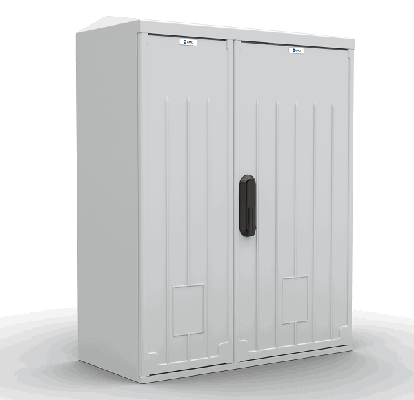 Шкаф уличный всепогодный настенный ЦМО ШТВ-НП-12.6.3-8ААА-Т2