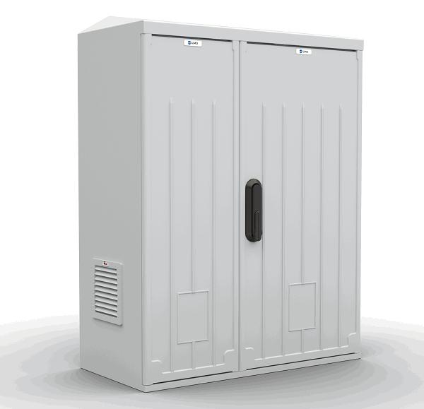 Шкаф уличный всепогодный настенный ЦМО ШТВ-НП-12.6.3-8ААА-Т1