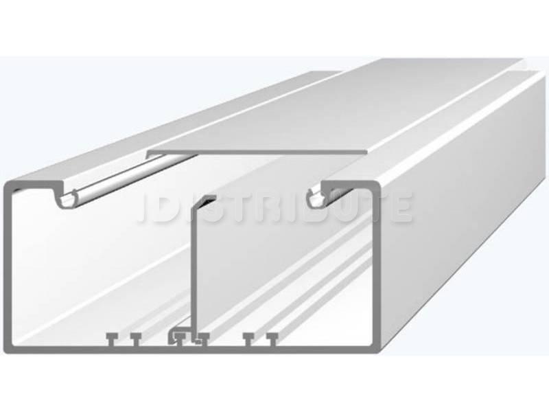 Перегородка Efapel Серия 16, для кабель-канала, 65 мм В, 2000 мм Д, цвет: белый