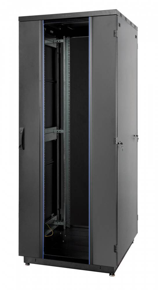 Шкаф телекоммуникационный напольный 19 дюймов Eurolan 60F-33-6A-31BL