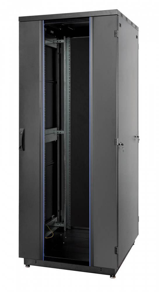 Шкаф телекоммуникационный напольный 19 дюймов Eurolan 60F-22-88-31BL