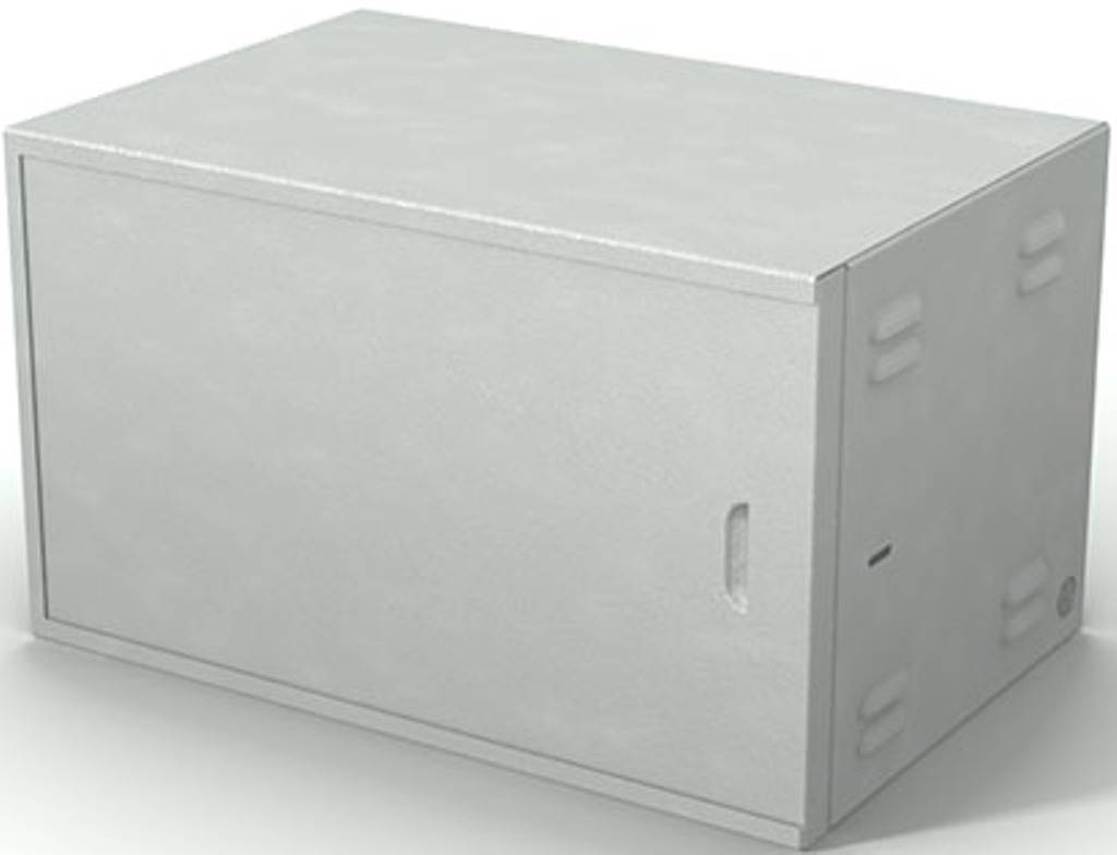 Шкаф телекоммуникационный антивандальный 19 ШТП-7.400