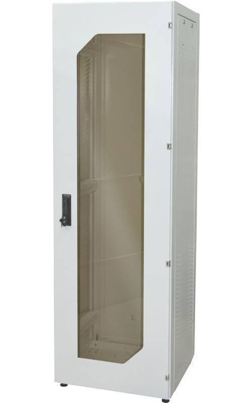 Шкаф телекоммуникационный напольный 19 дюймов OlmiOn ШТК-Н-42.6.12-1