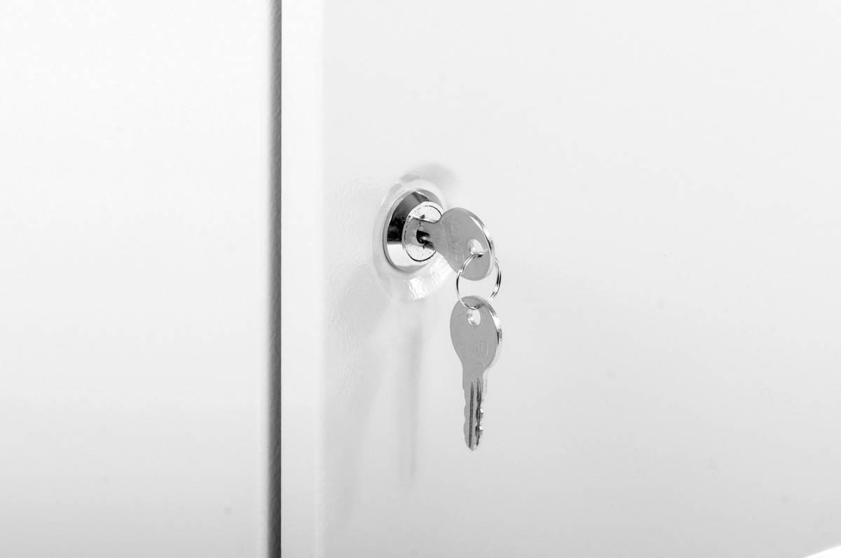 Шкаф телекоммуникационный 19 настенный ЦМО ШРН-Э-6.350.1 дверь металл