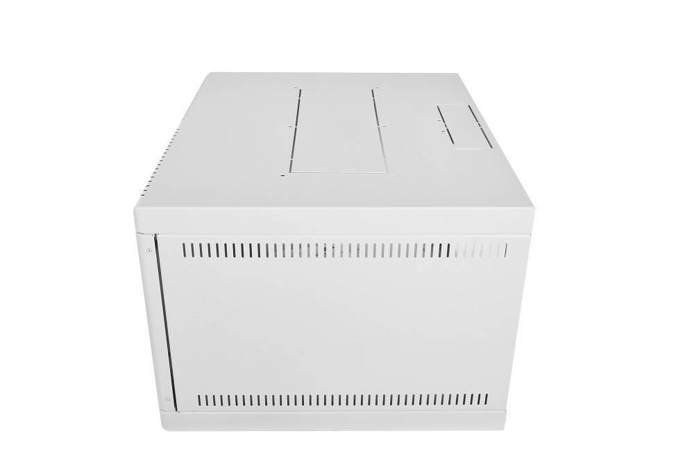 Шкаф настенный 19 дюймовый телекоммуникационный ЦМО ШРН-6.480.1