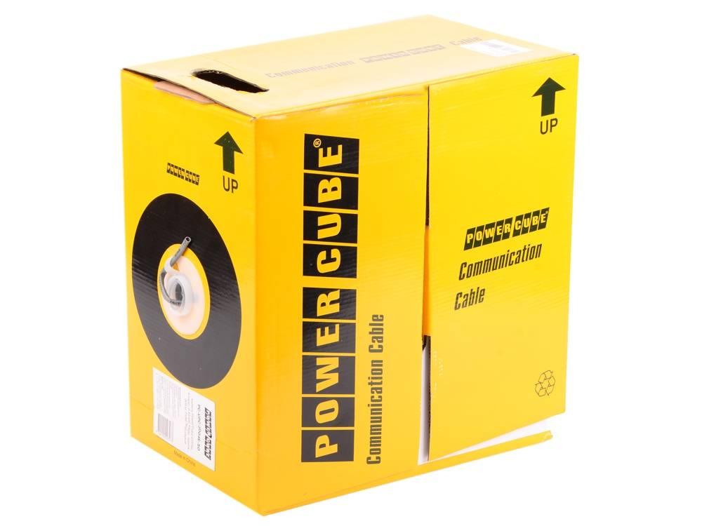 Кабель витая пара UTP 5e Power Cube PC-UPC-5002E-SO
