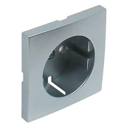 Лицевая панель для розетки Efapel (90632 TAL) алюминий