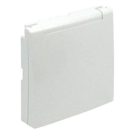 Лицевая панель для розетки Efapel (90634 TGE) лёд
